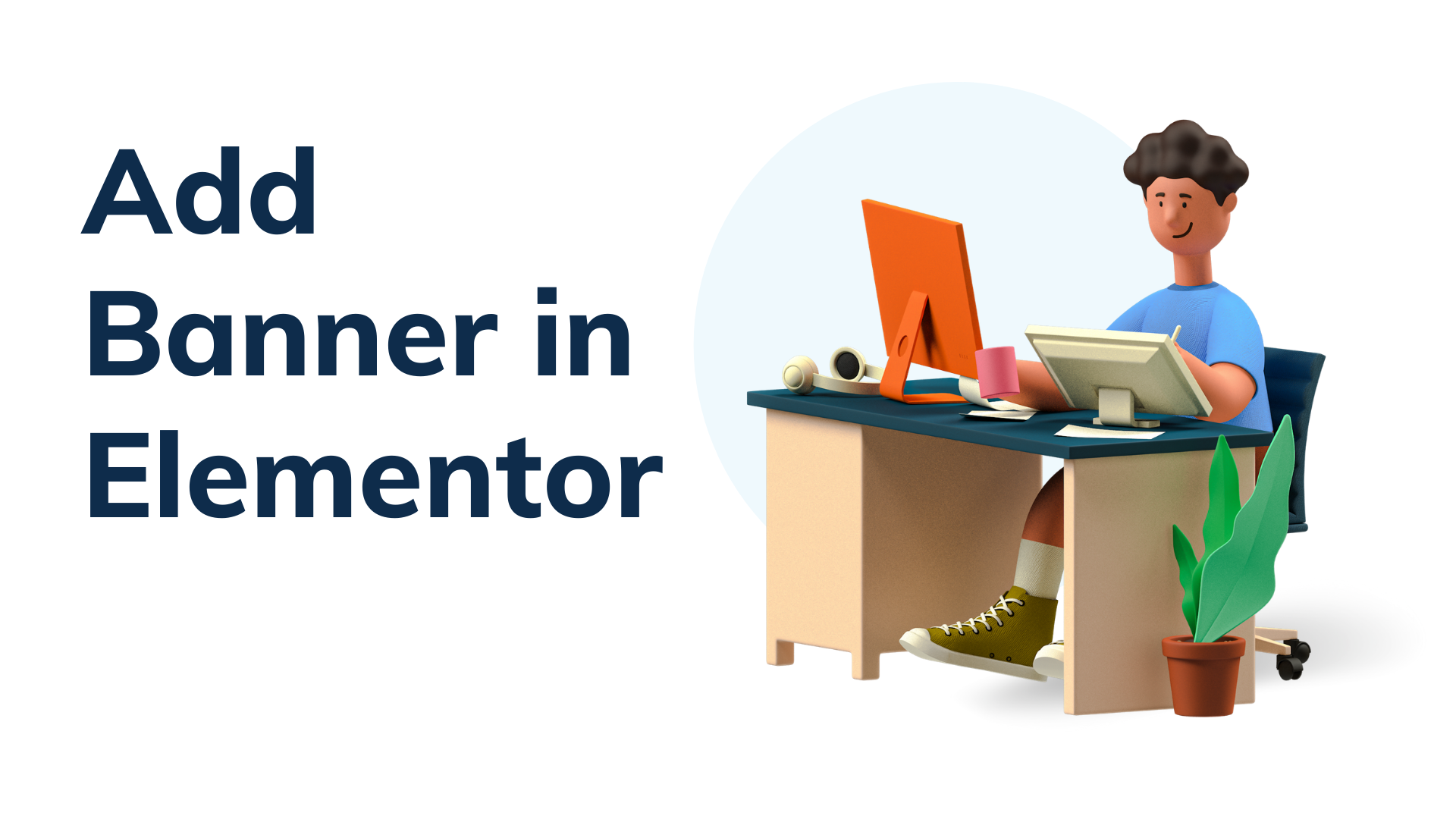 How to Add Banner in Elementor