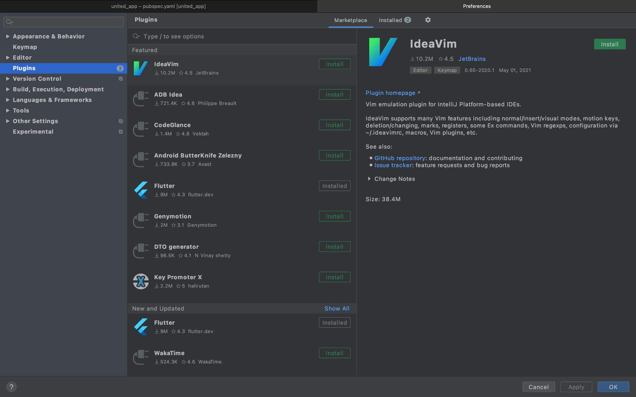 Installing Plugin on Android Studio